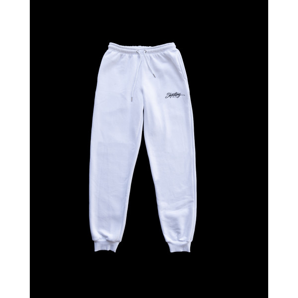 SHOOTING DICE SPORT PANTS WHITE